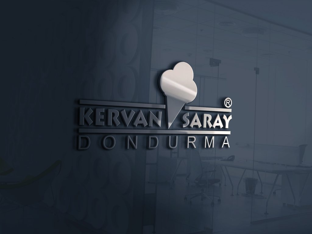 Logo Tasarımı Kervan Saray Dondurma