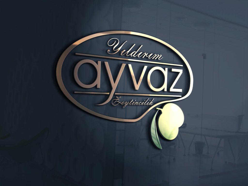 Ayvaz Zeytin Logo Tasarım Çalışması